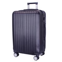 Real Polo Tas Koper Kabin Hardcase Fiber ABS-4 Roda Putar-EJCI Size 20