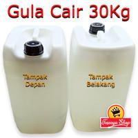 Gula Cair 30Kg - Fructosa HFS 55% - Simple Syrup Khusus Gojek/Grab