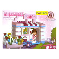 Tomindo Block Princess Diary Temperament 21101 - Lego Blocks Blok Main