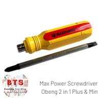 Maxpower Screwdriver 2 in 1 Obeng 2 sisi (Plus & Min)