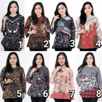 blouse batik wanita motif blarak