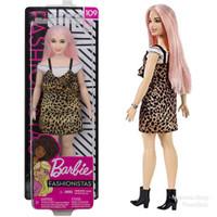 Boneka Barbie Mattel Doll Fashionistas 109 - Glam Style Mainan Anak