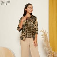 Riza New Top Standar - Atasan Batik Wanita Lengan Panjang