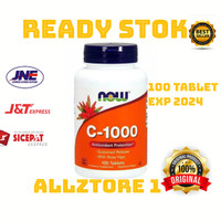 Now Foods C 1000 C1000 vitamin C 1000mg 100 vega capsule