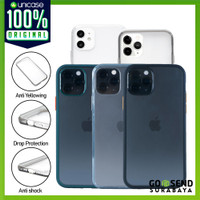 Case iPhone 11 Pro / Max /11 OCTAGUARD Dual Frosted Clear Matte Casing