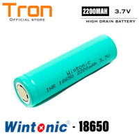 HAME WINTONIC Battery 18650 INR 3.7V 2200mAh Flat Top