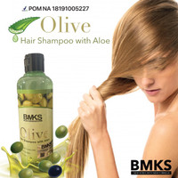 BMKS OLIVE HAIR SHAMPOO WITH ALOE - 250ML - BPOM NA18191005227