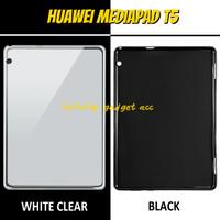 Huawei Mediapad T5 Soft Case Softcase Casing Cover Silikon Tablet Tab - Hitam