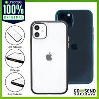 Case iPhone 11Pro / Max / 11 OCTAGUARD Dual Clear Hybrid Doff Casing
