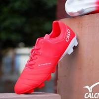 Sepatu Bola CALCI VALOR SC White / Red