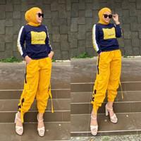 Find Your Set Setelan Baju Olahraga l Stelan Sporty Fashion Muslim