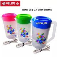 teko plastik listrik 2,1litter lion star