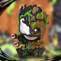 HOT TOYS HT COSBABY COSB761 VENOMIZED GROOT SITTING VERSION
