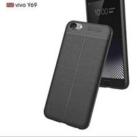 Autofocus Autofokus Softcase Case Leather Hp Vivo Y69 Y 69
