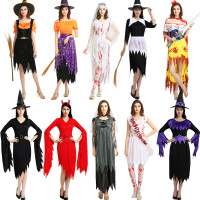 Kostum Halloween Wanita Dewasa Baju Pesta Cosplay Witch Costume murah - Mix Random