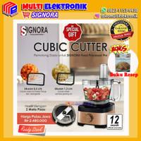 Signora Food Processor Pro & Cubic Cutter + Bonus Hadiah Kategori 6