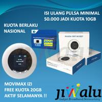Modem Mobile Wifi MIFI 4G LTE Movimax MV007 FREE XL GO IZI 20GB