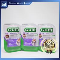 Pembersih Gigi GUM Ortho Wax, GUM Orthodontic Wax Mint 724, Kawat Gigi