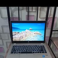 Laptop hp folio 9480 core i7 ram 8gb mulus mantap murah meriah