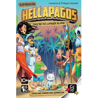 Hellapagos: They're No Longer Alone (Original) Board Game Expansion