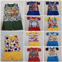 Setelan Baju Bayi / Setelan Baby / Setelan Anak Cowok umur 0-1 tahun