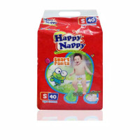 PAMPERS HAPPY NAPPY PANTS S40 / HAPPY NAPPY PANTS S MURAH