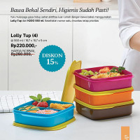 lolly tup tupperware get 4