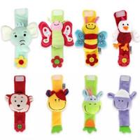 Mainan Gelang Rattle Bayi Kerincingan Bunyi Lucu Halus - BEE LEBAH