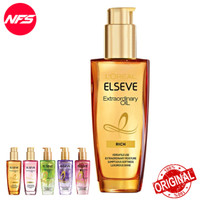 Loreal Elseve Extraordinary Oil Hair Serum 100 ml-Gold-Pink-Floral Ori