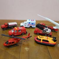 Mainan Set Diecast Kendaraan Pemadam Api - Diecast Pemadam Kebakaran