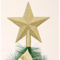 Ornamen Bintang Hiasan Pohon Natal / Dekorasi Christmas Tree Top Stars