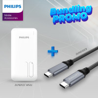 Philips Special Package Powerbank DLP6812C White + DLC4530CB Type C