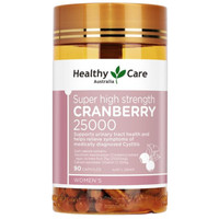 Healthy Care Super Cranberry 25000 Urinary Tract Made In Australia