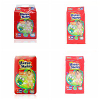 PAMPERS HAPPY NAPPY PANTS S40/M34/L30/XL26