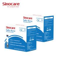 Sinocare Safe-Accu Strip Uji Gula Darah (100 Strip)