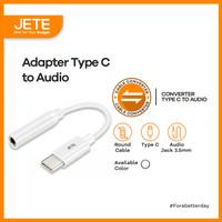 Kabel Adapter Type C to Jack Audio JETE Connector Converter Adapter