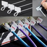 Kabel Ties dengan Marker Penanda atau Label - 2.5mmx11cm