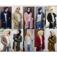 Owlet - Cardigan Panjang Rajut / Long Cardigan Knit Basic outer / Card