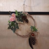 Hiasan Dinding Bunga Bulat Besar