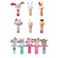Mainan Genggam Bayi Rattle Stick Lucu Imut Bunyi Kerincingan - 1 OWL
