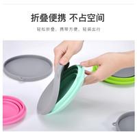 Gelas Lipat Silikon Foldable Travel Mug 500ml - Blue