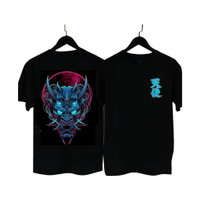Superstoreonline - BF034 Kaos Distro Pria T-Shirt Pria Kaos Pria Tandu - Hitam, XL