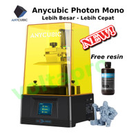 New Anycubic Photon Mono Printer 3D SLA LCD Bahan UV Resin