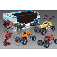 Mobil Remot RC OFF ROAD With Light - Remote ROCK CRAWLER Lampu