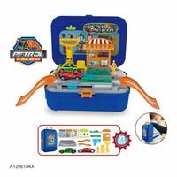 Mainan Tas Ransel Playset Mainan Koper Backpack Set Mainan Tas
