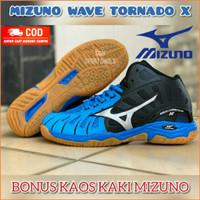 Sepatu volly voli mizuno wave tornado premium original
