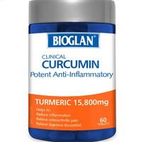 Bioglan Curcumin anti inflammatory turmeric 60tab / sendi sehat