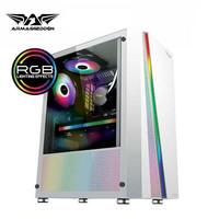 ARMAGGEDDON Kagami K2 ATX Mid Tower Gaming Casing - White