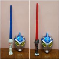 Mainan Set Topeng Pedang Ultraman - Mainan Pedang Ultraman