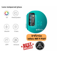 Anti Gores Kamera Infinix HOT 9 PLAY Tempered Glass Camera Lens Screen